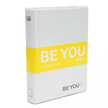 Giochi Preziosi Be You Orginal Diario Agenda, Formato Standard, Collezione 2019/20, Bianco - 3