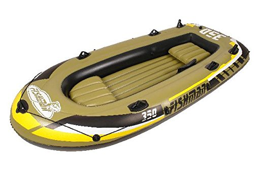 Jilong Fishman 350 set, Gommone, 305x136x42cm, Verde - 1
