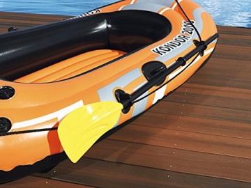 PLAY STORE Bestway 61062 Canotto Gommone Gonfiabile Arancione Hydro Force Kondor 2000 188x98x30cm - 3