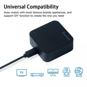 Telecomando IR Smart, Smart Home Automation, Panamalar wireless WiFi controllo IR universale Hub compatibile con Google e ALEXA Home per Apple smartphone Android ... (IR001) - 3