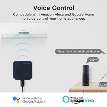 Telecomando IR Smart, Smart Home Automation, Panamalar wireless WiFi controllo IR universale Hub compatibile con Google e ALEXA Home per Apple smartphone Android ... (IR001) - 4