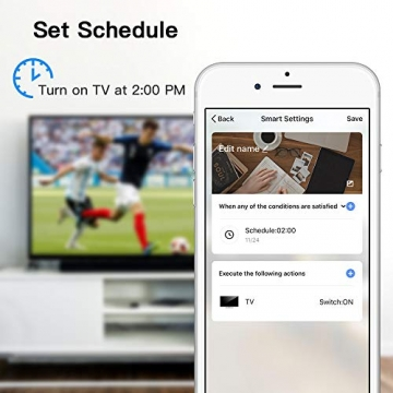 Telecomando IR Smart, Smart Home Automation, Panamalar wireless WiFi controllo IR universale Hub compatibile con Google e ALEXA Home per Apple smartphone Android ... (IR001) - 5