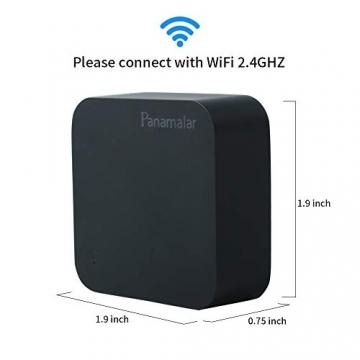 Telecomando IR Smart, Smart Home Automation, Panamalar wireless WiFi controllo IR universale Hub compatibile con Google e ALEXA Home per Apple smartphone Android ... (IR001) - 6
