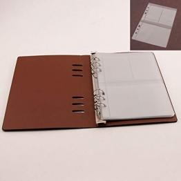 FlYHIGH Stampi in Metallo Taglio Muore Stencil Storage Book Organizer Collezione 10 Pagine Interne 3 Griglie Scrapbooking Fai da Te - 1