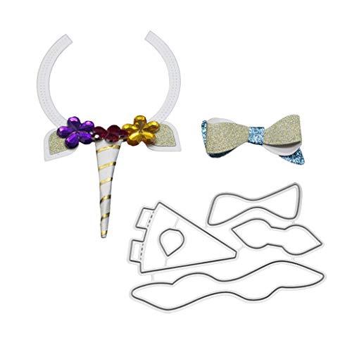 Nankod Magic stick Bow Tie fustelle in metallo, stencil DIY carta scrapbooking album timbro goffratura Craft Decor - 1