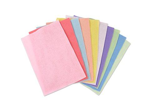 Sizzix 663022 Panni Colori Pastelli, Feltro, Multicolore, 29.7 x 21 x 2.3 cm - 1