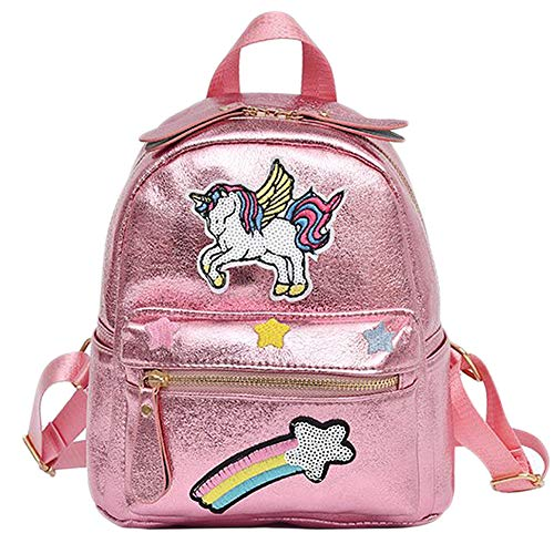 Unicorn Backpack Animal Backpack Girl Unicorn Zaino per bambini Zaino casual (1) - 1