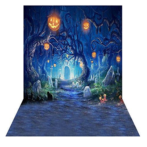 Andoer 2x1.5m Sfondo di Halloween Horror Notte Fotografia Sfondo Photo Studio Pro - 1