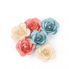 Bigz Fustella Rosa 3D - 1