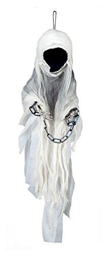 Boland- Decorazione Spettro Faceless Ghost, Bianco, 100 cm, 74551 - 1