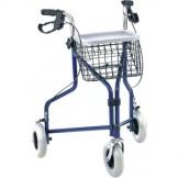 Deambulatore da passeggio a 3 ruote