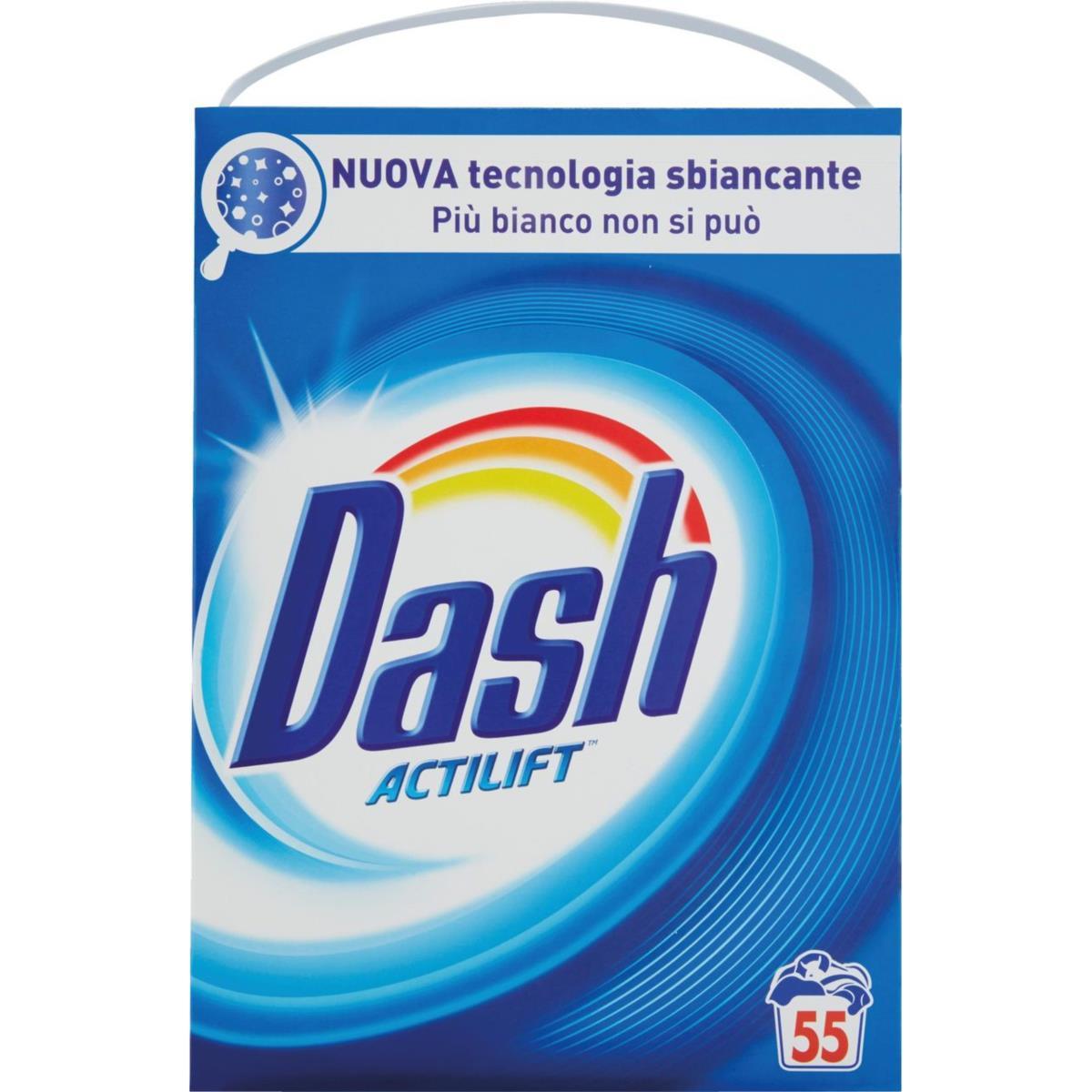 detersivo in polvere 55 lavaggi