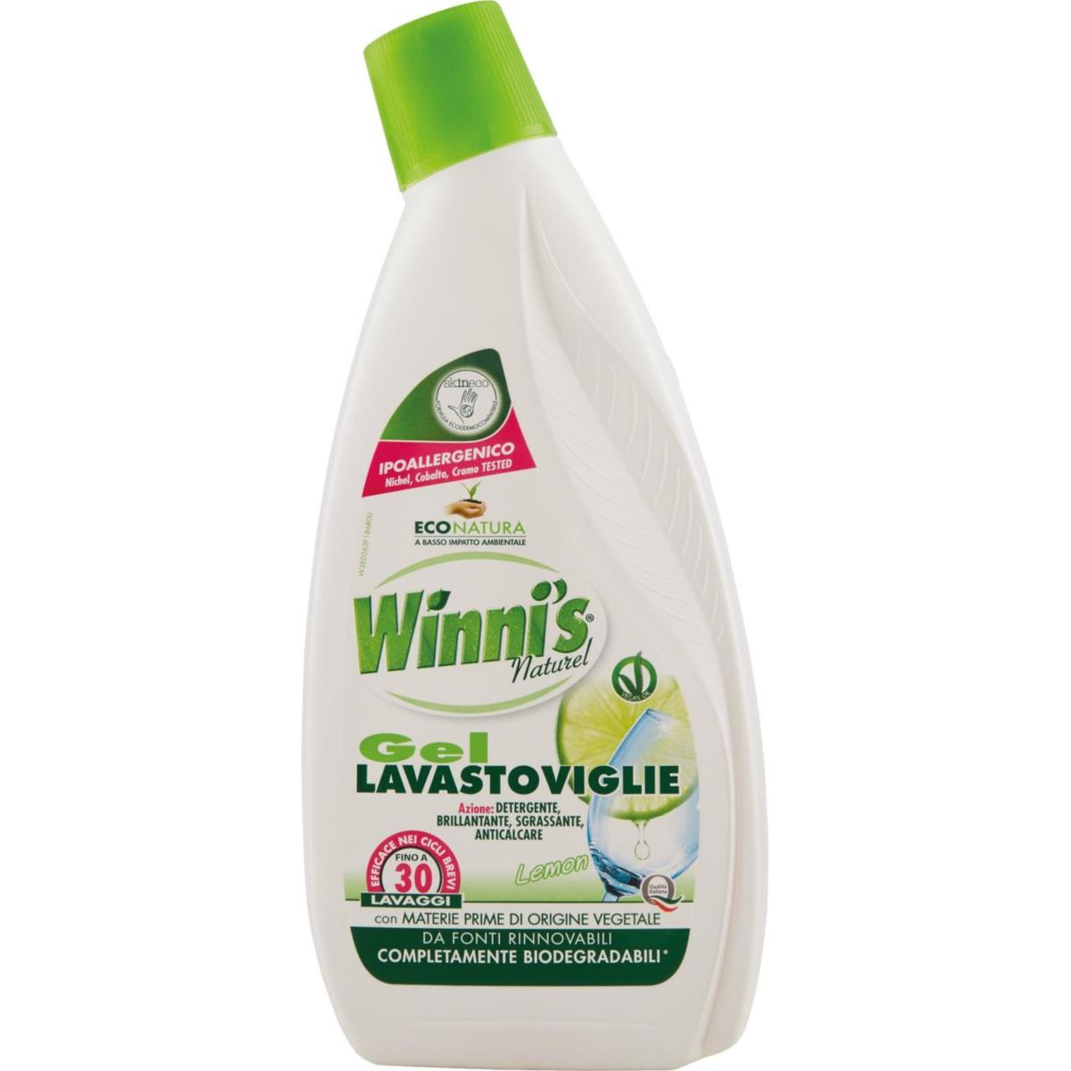 detersivo lavastoviglie gel ml 750
