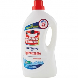 detersivo lavatrice + igienizzante 52 lavaggi