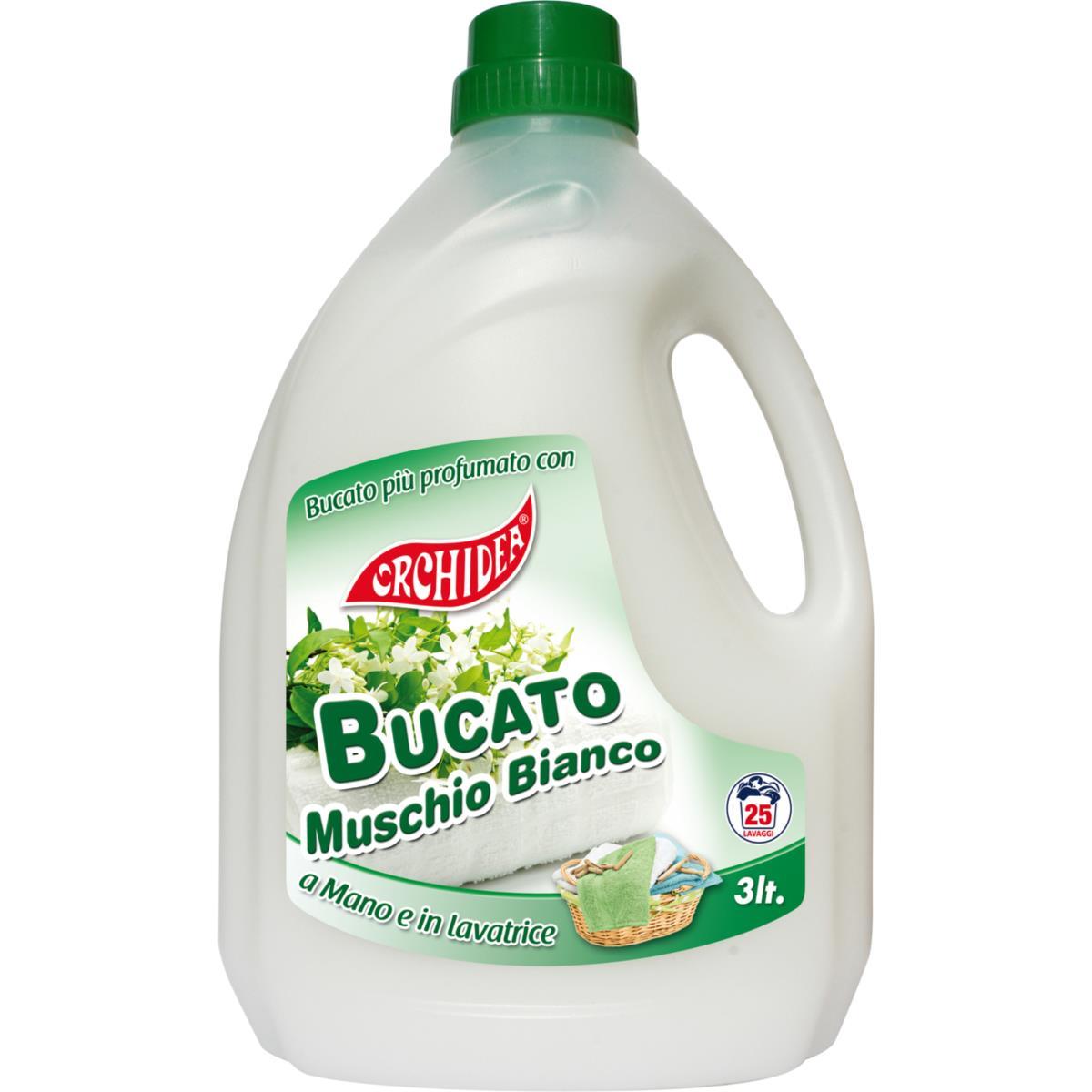 Detersivo Lavatrice Muschio Bianco 3L