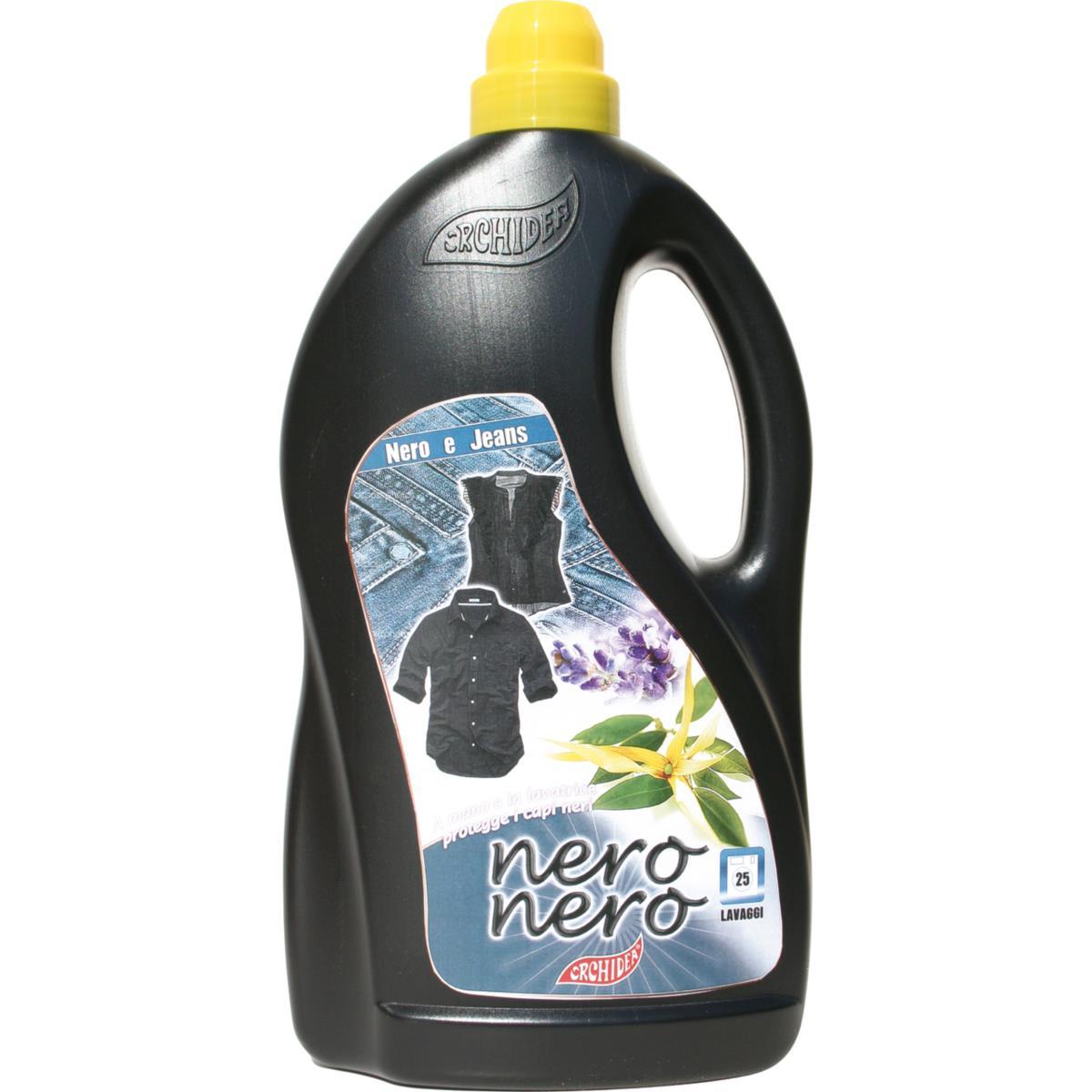 Detersivo Lavatrice Nero 25 lavaggi