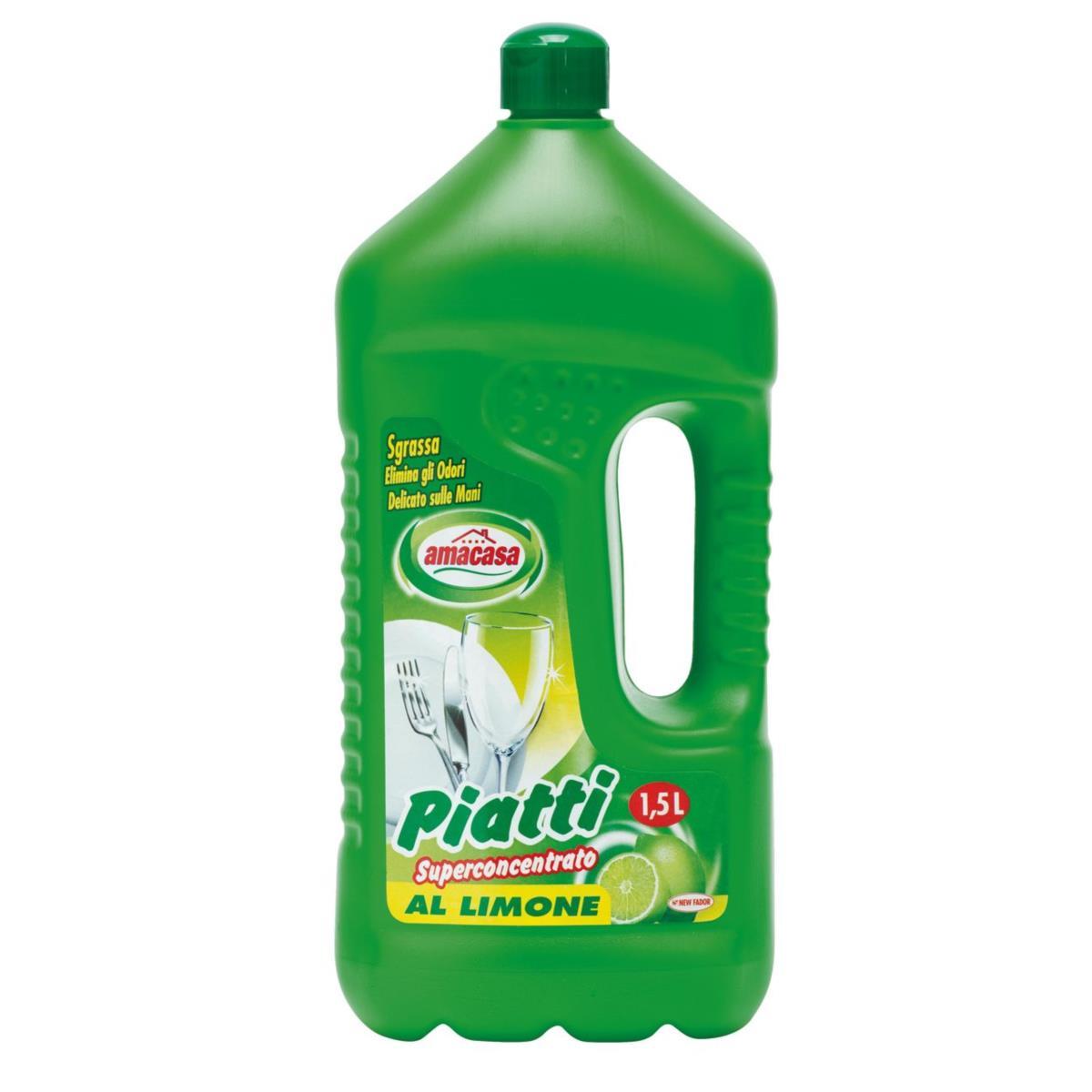 Detersivo piatti Limone 1.5l