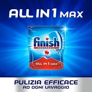 Finish All in 1 Max Pastiglie Lavastoviglie, Limone, 110 Capsule - 3
