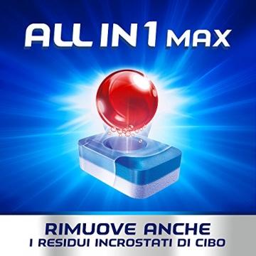 Finish All in 1 Max Pastiglie Lavastoviglie, Limone, 110 Capsule - 5