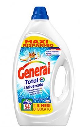 General Detersivo Liquido - 2 Confezioni da  54 Lavaggi - 1