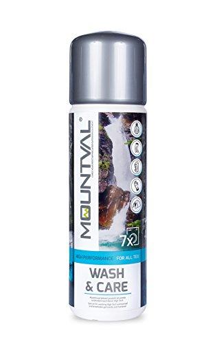 Mountval Wash & Care M8002, Detergente per il Lavaggio di Abbigliamento Tecnico e per Attrezzature con Membrane Climatiche, 315 ml - 1