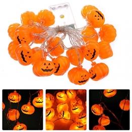 NNIUK 20 LED Fata Zucca luce della stringa per la decorazione di Halloween del partito di natalizie di Cosplay. - 1