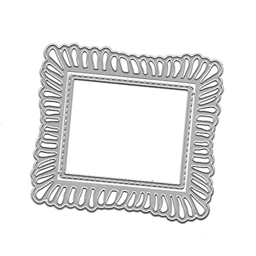 siwetg - Cornice portafoto in Metallo, Forma a punzonatura, per Album di Scrapbooking Fai da Te - 1