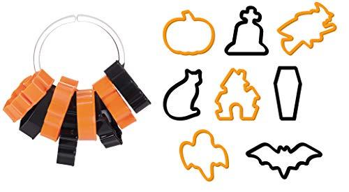 Tescoma, formine tagliabiscotti Delicia per Halloween, 8Pezzi, Colori Assortiti - 1