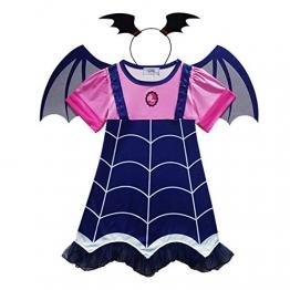 WEIHUIMEI, 1 Set di Costumi da Vampiro, per Halloween, Feste e Cosplay, As The Picture, 100 cm - 1