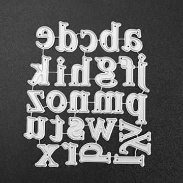 Asiproper Metallo Taglio Muore Stencil per Album di Foto Album di Foto di Natale - 4
