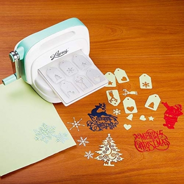 BENECREAT 6 PCS Taglio Muore Tema di Natale Stampo in Acciaio al Carbonio per Scrapbooking Album Mestieri di Carta DIY - 7