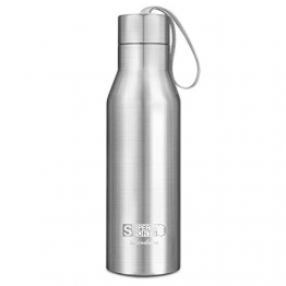 Bottiglia per Acqua 720ml, Landnics Borraccia in Acciaio Inox BPA Libero, Borracce in Acciaio 12 Ore Caldo e 24 Ore Freddo, Bottiglia Termica per Esterno, Ufficio, Campeggio, Viaggio e Campeggio - 1