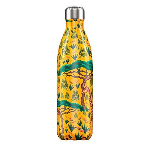 Chilly's Bottiglia in Acciaio Inox Safari JIRAFAS 750 ml. - Bottiglie Termiche - 1