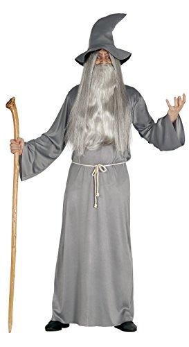 FIESTAS GUIRCA S.L..- 84466 Costume Mago Stregone Gandalf Adulto, Grigio, L (L (52), 84466.0 - 1