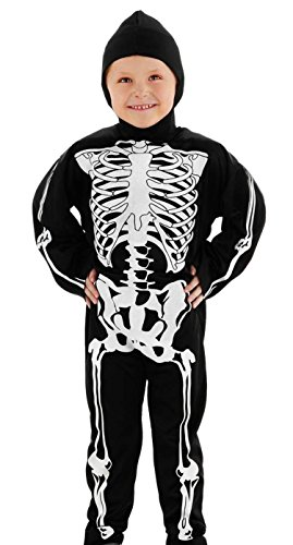 Folat-Costume da scheletro Fur Kinder - 1