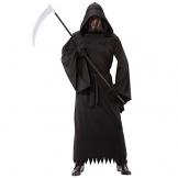 Halloween costume da fantasma morte dell'adulto - 1