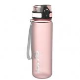 Ion8- Bottiglia per l'acqua, a prova di perdite, senza BPA., Unisex, Leak Proof BPA Free,Frosted Rose Quartz, 500ml - 1