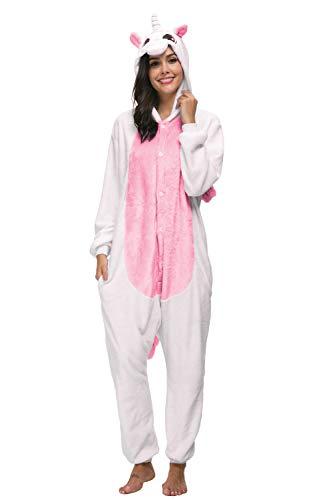 LATH.PIN -Pigiama Anime Cosplay Halloween Costume, Costumi di Carnevale Adulti, Pigiama Tuta Animali - 1