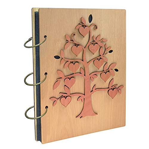Umi. Essentials album fotografico, design albero genealogico, con tasche 13 x 18, capacità 120 foto - 1