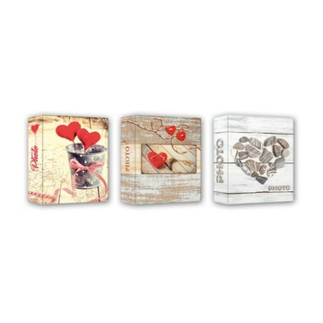 Album love ce46200 10x15 slip-in 200f cuore