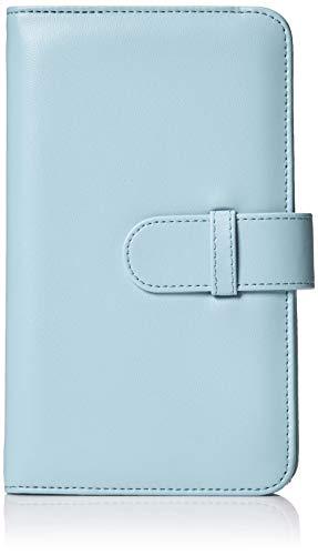 AmazonBasics - Album a portafoglio per 108 foto Instax Mini, colore blu ghiaccio - 1