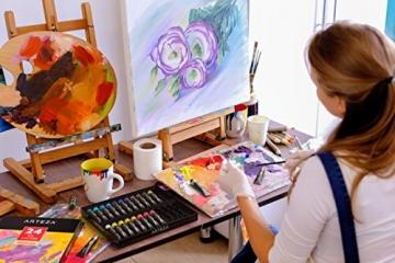 Arteza Colori Ad Olio Per Pittura - Kit Da 24 Tubetti Singoli Da 12 Ml Per La Pittura– Colori Ad Olio Professionali - Ideali sia su Tela che su Legno - 7