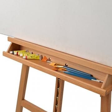 Artina Cavalletto Pittura Barcelona per dipingere in Accademia e Studio, Legno di faggio per artisti pittori Belle Arti - 6