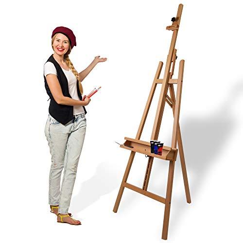Artina Cavalletto Pittura Barcelona per dipingere in Accademia e Studio, Legno di faggio per artisti pittori Belle Arti - 1