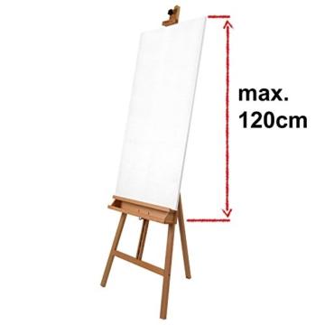 Artina Cavalletto Pittura Barcelona per dipingere in Accademia e Studio, Legno di faggio per artisti pittori Belle Arti - 4