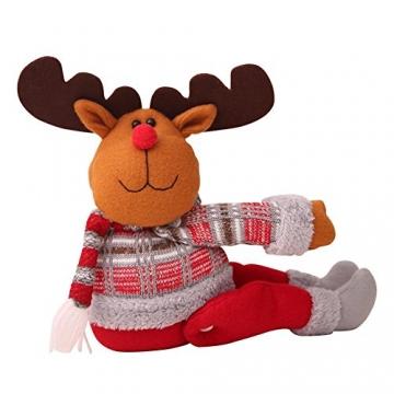 ARVIN87LYLY Christmas morsetto gancio di fissaggio tenda fibbia fibbie tende finestra tenda fermatenda forniture Babbo Natale regali di Natale tenda decorazione, Christmas curtain buckle old man - 7