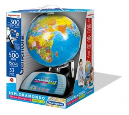 Clementoni Esploramondo Connect 2.0 Gioco Educativo Didattico Giocattolo 770, Colori Assortiti, 11992 - 1