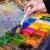 EAGLESTIME - Pennelli in legno per pittura a olio, acquerello / acrilico (Confezione da 12) - 4