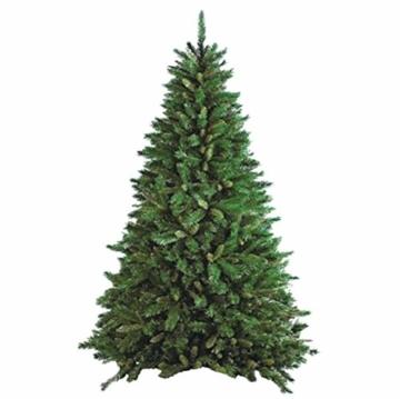 Flora New Tiffany Albero di Natale, Verde, 180 cm - 3