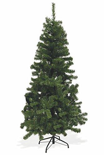 Galileo Casa Xmas Albero Natale con 500 Rami, PVC, Verde, 90 x 90 x 180 cm - 1